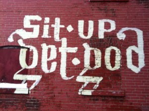 sit up get God