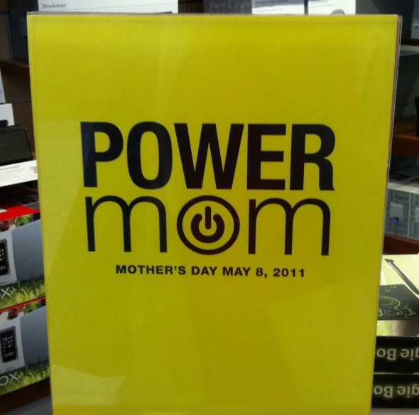 power mom sign