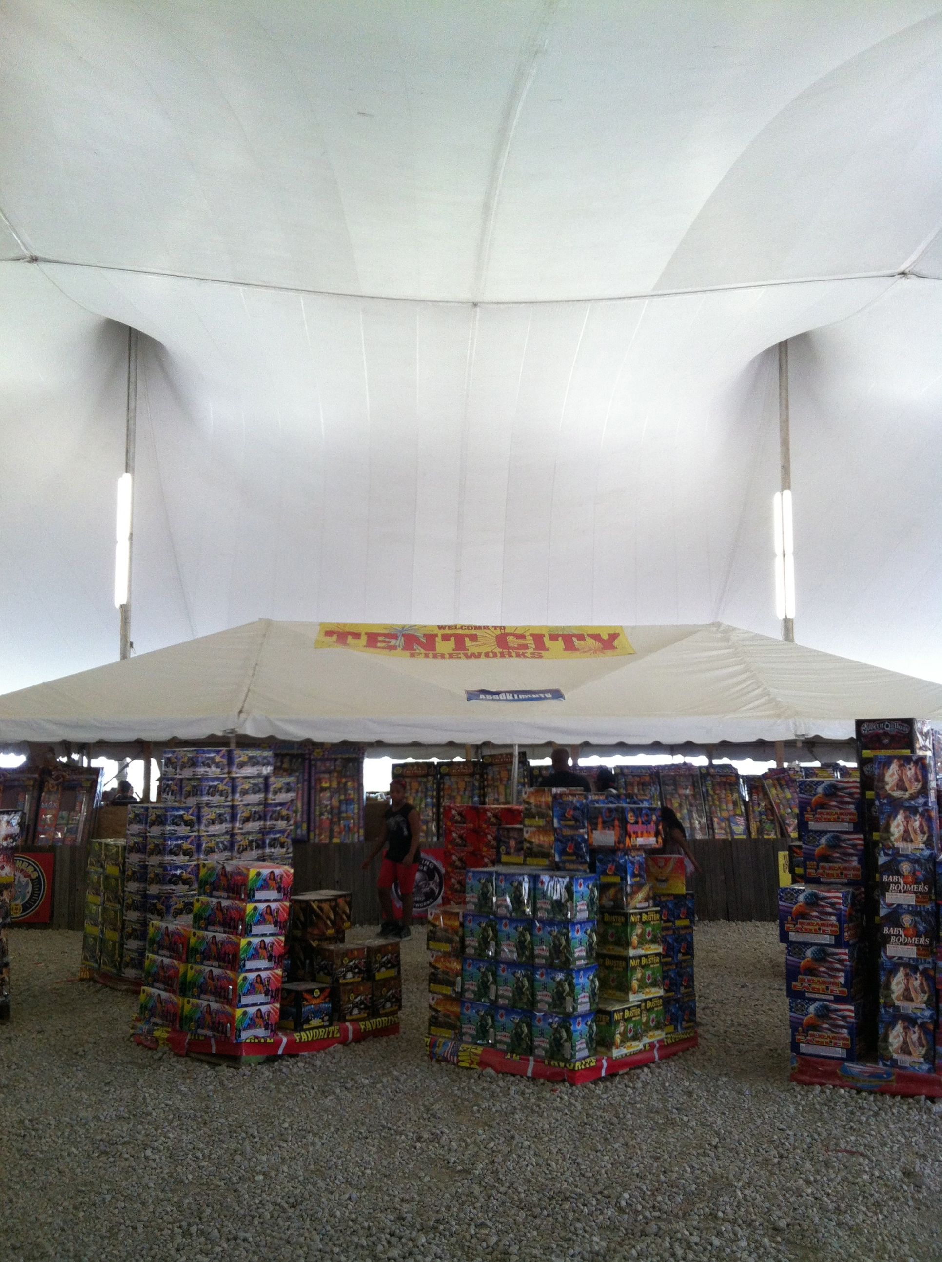tent city fireworks mecca
