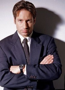 X-Files David Duchovny as Fox Mulder, image from wikipedia