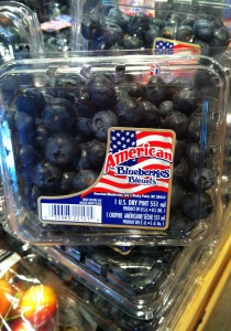 American blueberries