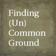 Finding (Un)Common Ground button