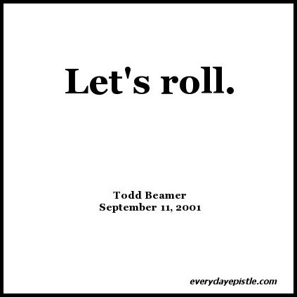 Let's Roll Todd Beamer