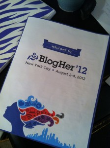 welcome to blogher '12
