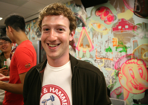 Mark Zuckerberg by Scott Beale/Laughing Squid, creative commons license