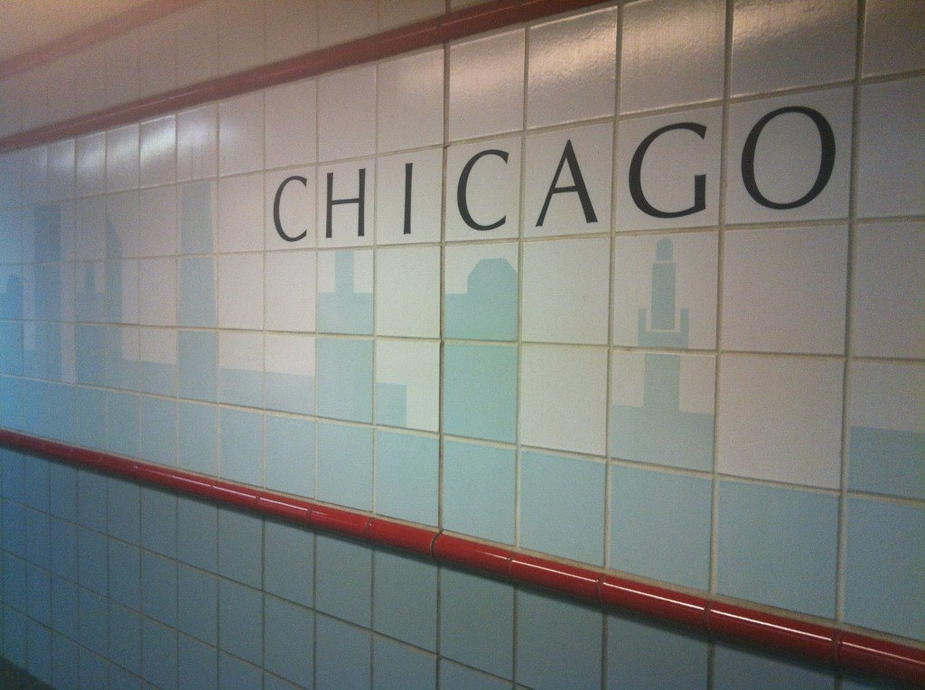 Chicago subway tile