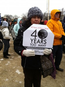 40 years too many March for Life