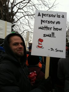 a person is a person March for Life