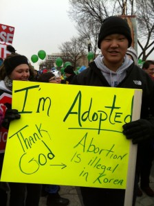 adopted from Korea March for Life