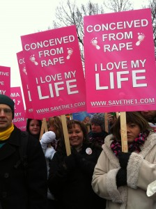 conceived from rape March for Life