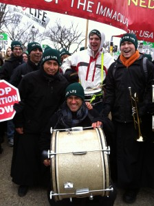 pro-life drummers March for Life