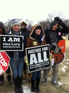 Sienna College pro-life generation March for Life