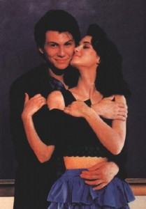Winona Ryder, Christian Slater in Heathers