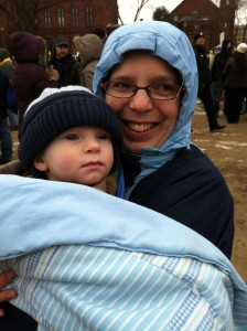 mother with baby March for Life