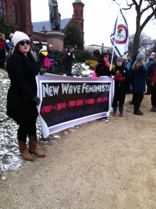 new wave feminists March for Life
