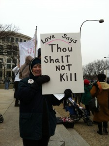 thou shalt not kill March for Life