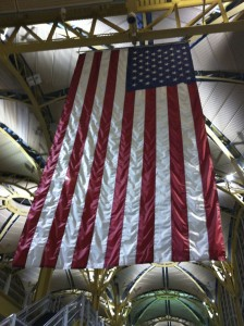 flag in Reagan National